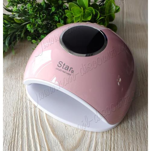 Лампа для сушки гель лака Star 5 UVLed 48W (розовая) в  Махачкале