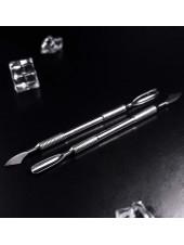 Лопатка маникюрная EXPERT 10 TYPE 2 (скругленный пушер+топорик). Staleks
